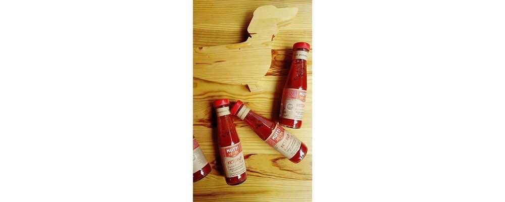 Ketchup MUTTI en dégustation
