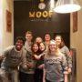 Donc on a fait notre «Inaug» de WOOF St Rémi